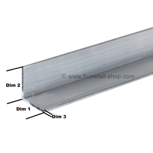 Aluminium Stab Winkelprofil
