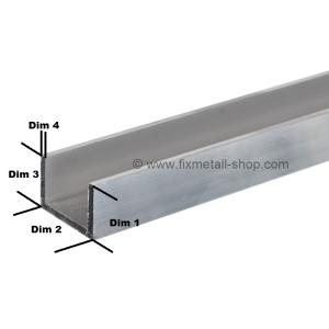 Aluminium Stab U-Profil