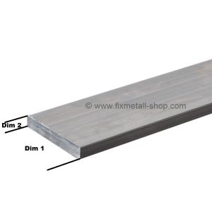 Aluminium Stab rechteckig