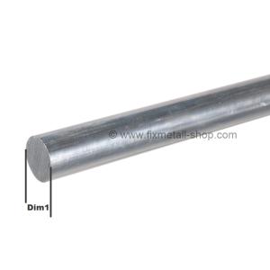 Aluminium Stab rund